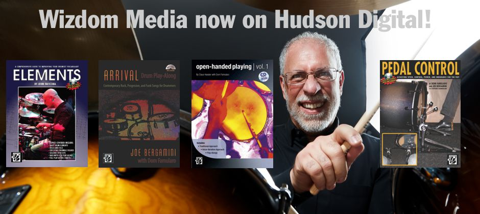 Wizdom Media books now on Hudson Digital!